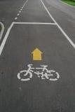 Pista da bicicleta em Banguecoque Imagem de Stock Royalty Free