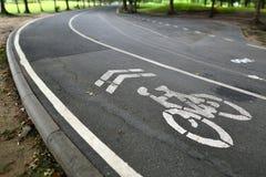 Pista da bicicleta no parque Imagem de Stock Royalty Free