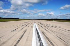 Pista de aterragem Fotografia de Stock