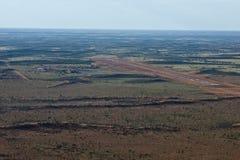 Pista de aterragem no deserto Fotografia de Stock