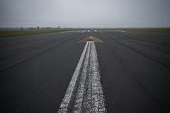 A pista de aterrissagem Fotografia de Stock