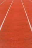 Pista de atletismo Imagem de Stock