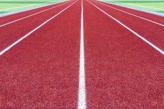 Pista de atletismo Imagem de Stock Royalty Free