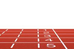 Pista de atletismo Fotografia de Stock Royalty Free