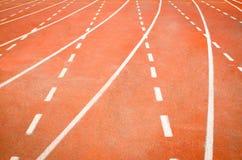 Pista de atletismo Fotos de Stock