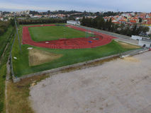Pista de Atletismo Photographie stock
