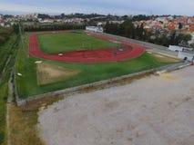 Pista DE Atletismo Stock Fotografie