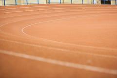 Pista de atletismo no estádio Imagem de Stock