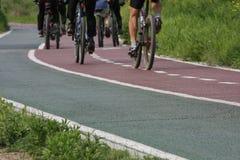 Pista de bicicleta Imagem de Stock