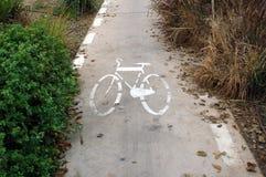 Pista de bicicleta Imagens de Stock