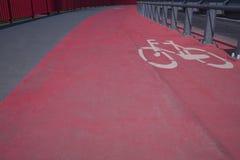 Pista de bicicleta Foto de Stock