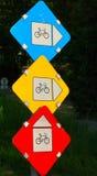 Pista de bicicleta no.1 Fotografia de Stock Royalty Free