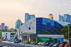 A pista de boliches de Guangzhou Imagem de Stock Royalty Free