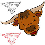 Pista de Bull Foto de archivo libre de regalías