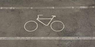 Pista de Bycycle Imagem de Stock