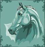 Pista de caballo Fotos de archivo libres de regalías