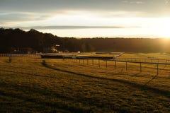 Pista de carrera de caballos Imagenes de archivo