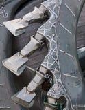 Pista de cortador Foto de archivo libre de regalías