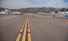 Pista de decolagem do campo de Gillespie Imagens de Stock