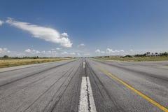 Pista de decolagem do treinamento dos aviões de Cessna Fotografia de Stock