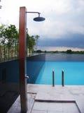 Pista de ducha Foto de archivo libre de regalías