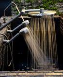 Pista de ducha Imagen de archivo