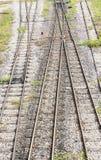 Pista de ferrocarril Imagenes de archivo