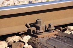 Pista de ferrocarril foto de archivo libre de regalías