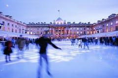 Pista de gelo da casa de Londres Somerset Imagem de Stock Royalty Free