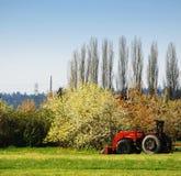 Pista de granja Fotografía de archivo libre de regalías