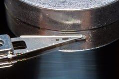 Pista de HDD Imagen de archivo libre de regalías