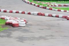 Pista de Karting imagenes de archivo