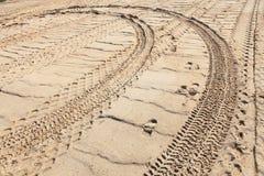 Pista de la arena Fotos de archivo
