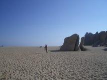 Pista de la arena Imagen de archivo libre de regalías