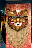 Pista de la danza del león Foto de archivo libre de regalías