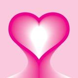 Pista de la forma del corazón libre illustration