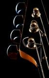 Pista de la guitarra Imagenes de archivo