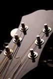 Pista de la guitarra Fotografía de archivo libre de regalías