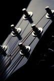 Pista de la guitarra Imagen de archivo libre de regalías