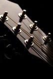 Pista de la guitarra Imágenes de archivo libres de regalías