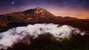 Pista de la montaña Imagenes de archivo