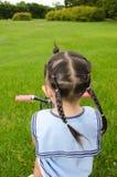 Pista de la muchacha Imagen de archivo