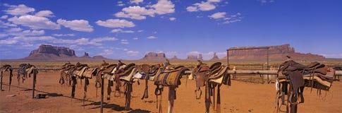 Pista de la nación de Navajo Foto de archivo libre de regalías