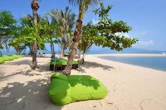 Pista de la playa Imagenes de archivo