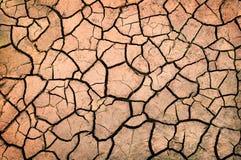 Pista de la sequía Foto de archivo libre de regalías
