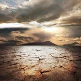 Pista de la sequía Imagen de archivo libre de regalías