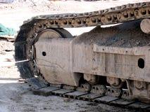 Pista de los excavadores Foto de archivo