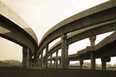 Pista de LRT Imagenes de archivo