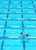 Pista de natação Imagem de Stock