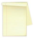 Pista de nota Imagen de archivo